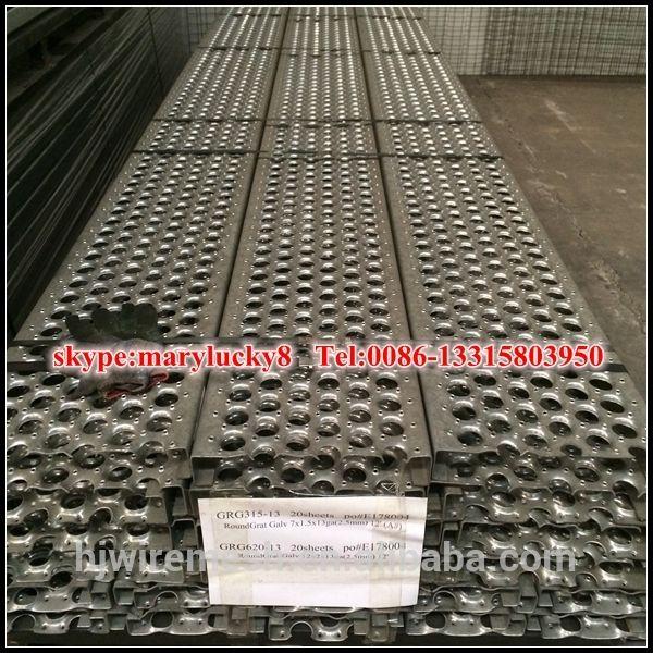 Aluminum mesh decking