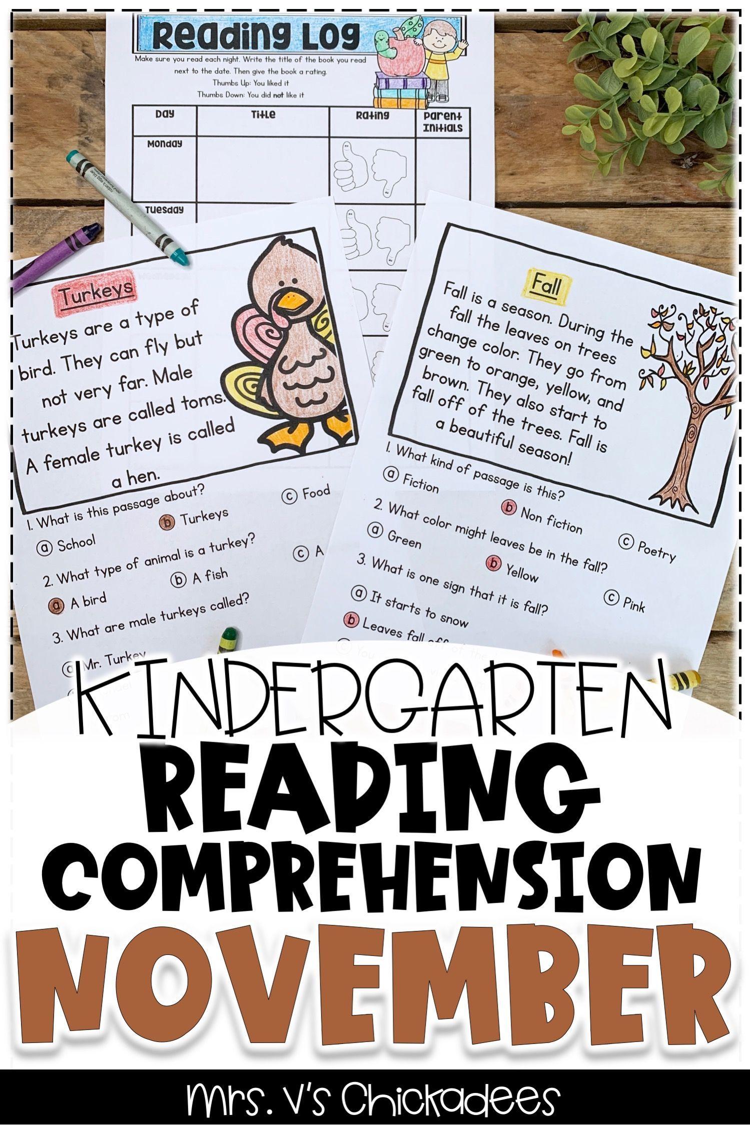 These Kindergarten Reading Comprehension Activities And Worksheets Are Kindergarten Reading Activities Reading Comprehension Kindergarten Reading Comprehension [ 2249 x 1499 Pixel ]