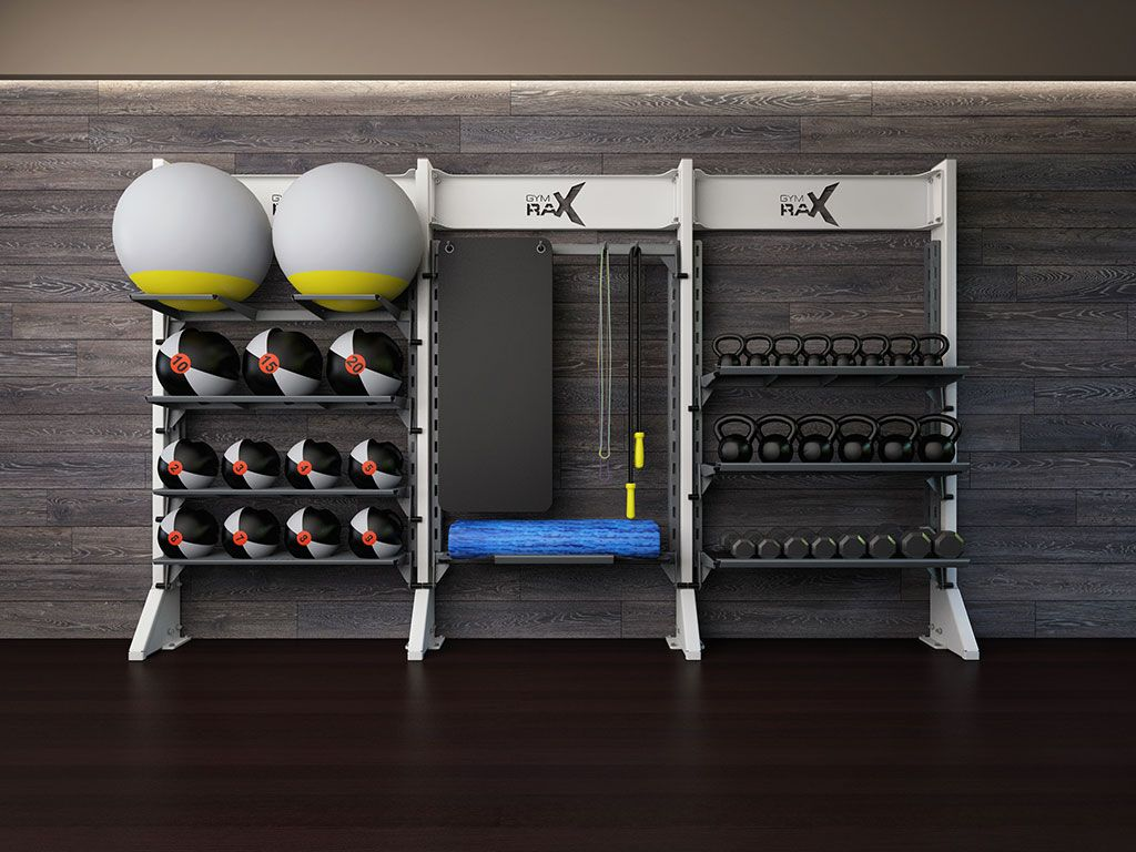 Delightful Customized Storage Solutions For Todayu0027s Hottest Equipment Including TRX®,  Bosu®, Vipr™