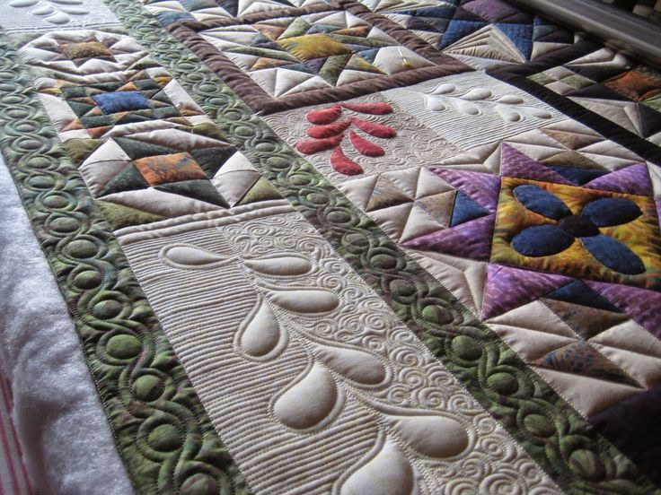 LOVELY......PC | Machine quilting designs, Quilting ...