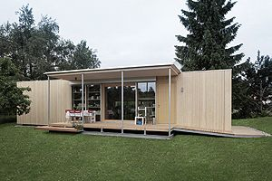 Johannes Kaufmann Architektur Portable House, Shipping Container Homes,  Container Houses, Prefab, Smallest