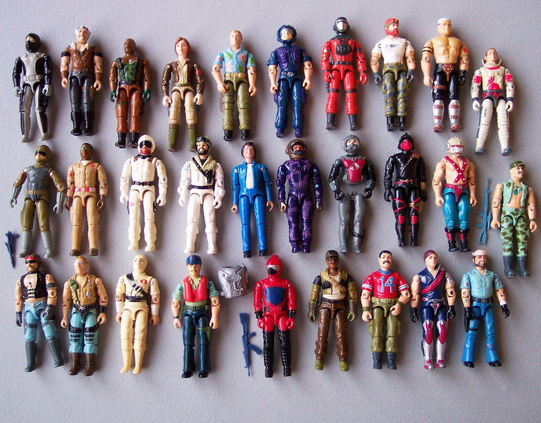 That gi joe classic toys all