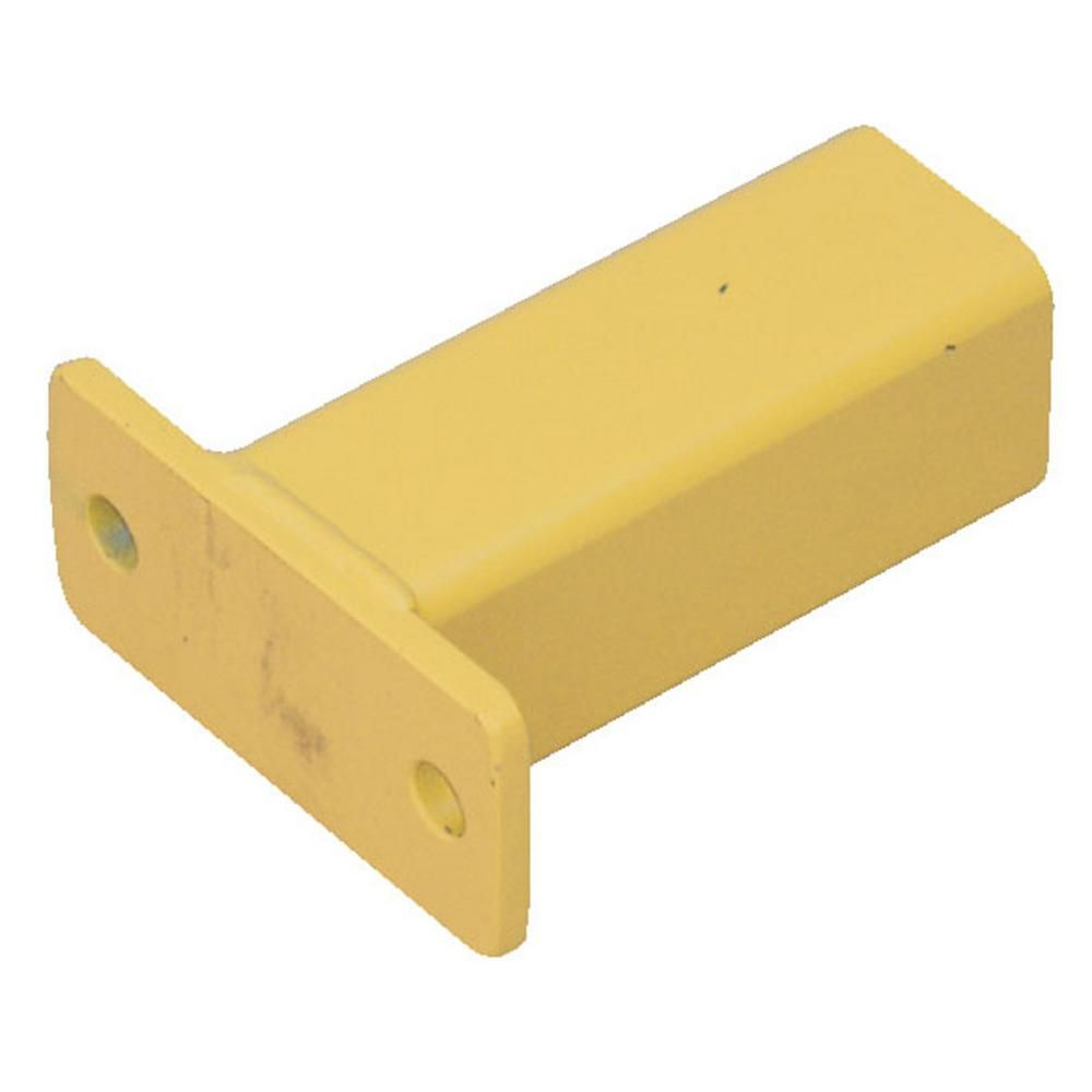 Vestil 6 875 in  x 6 in  x 3 in  Yellow Steel Inner Fitting