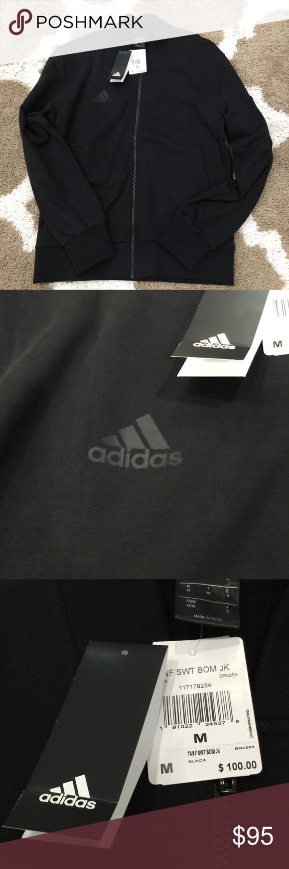 Adidas Tango Future Bomber Jacket Men's Black M This is a