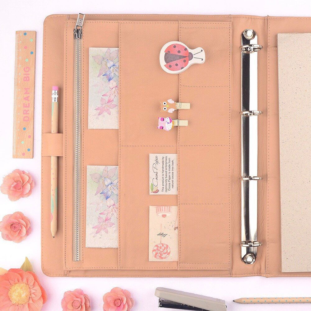 Peach! Our Large Binders Are Available In 2 Cute Styles
