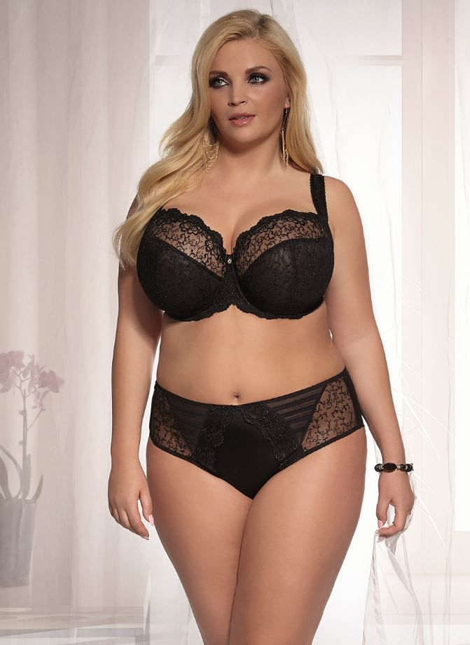 Stella Plus Size Sheer Bra up to J cup from Kris Line  364bd9242