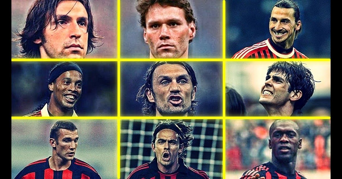 Ac Milan Legends Who Is Your Favourite Ac Milan Player Hd List Of A C Milan Players Wikipedia 10 Best Ac M In 2020 Ac Milan Liverpool Vs Ac Milan Liverpool Legends