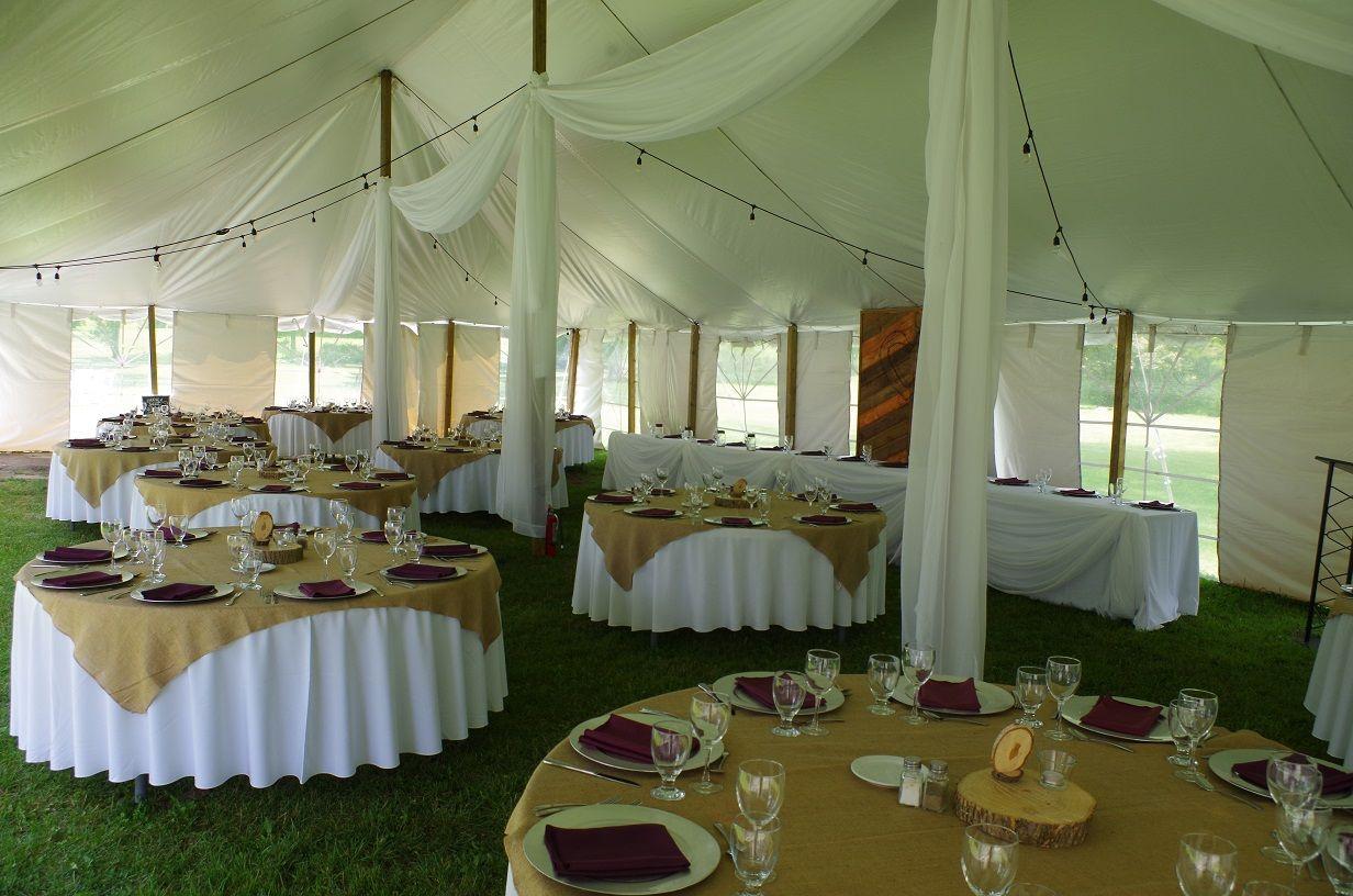 June 2017 wedding tent set up beside Ruthven Parku0027s historic Coach House on the Grand River & June 2017 wedding tent set up beside Ruthven Parku0027s historic Coach ...