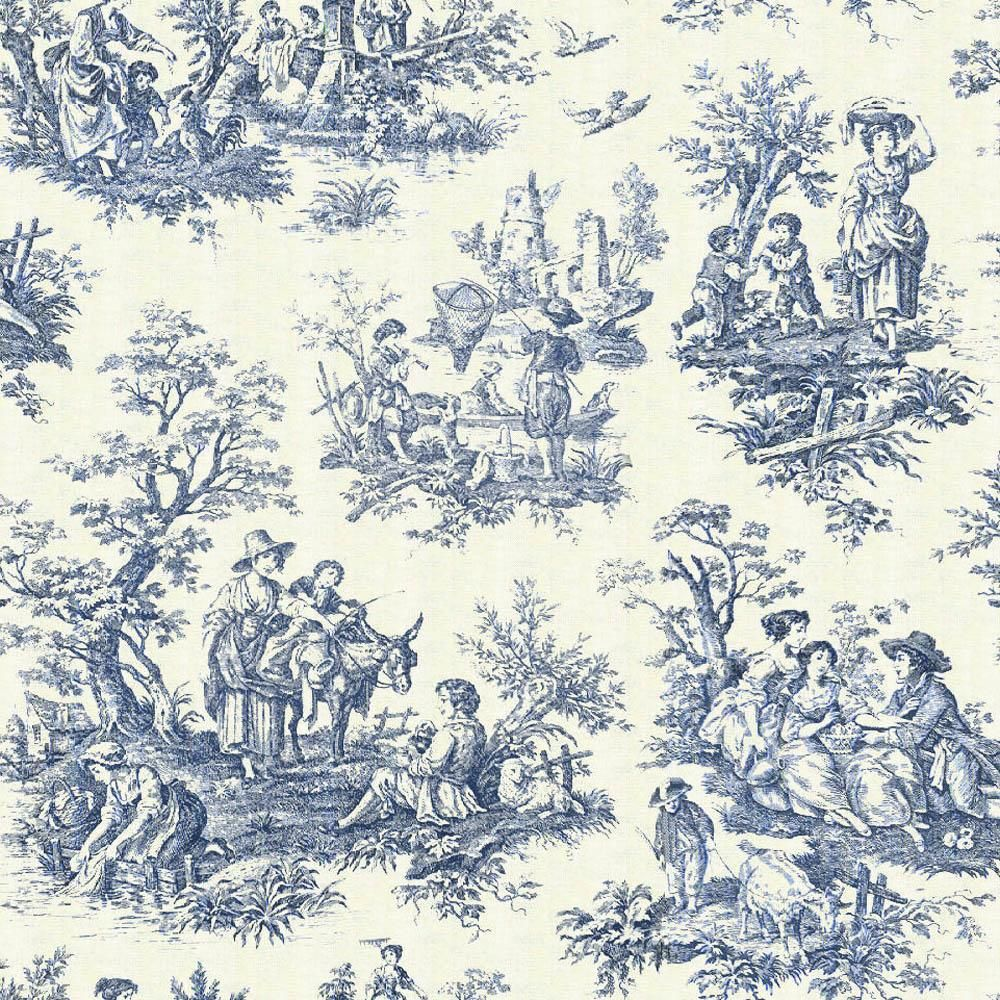 magazines 24 toile wallpaper black toile wallpaper blue toile wallpaper patterns pinterest. Black Bedroom Furniture Sets. Home Design Ideas