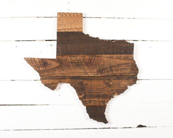 Texas Wood Sign Texas State Cutout Texas Wall Art Texas Etsy In 2020 Texas Wall Art Wood Pallets Pallet Wall Art