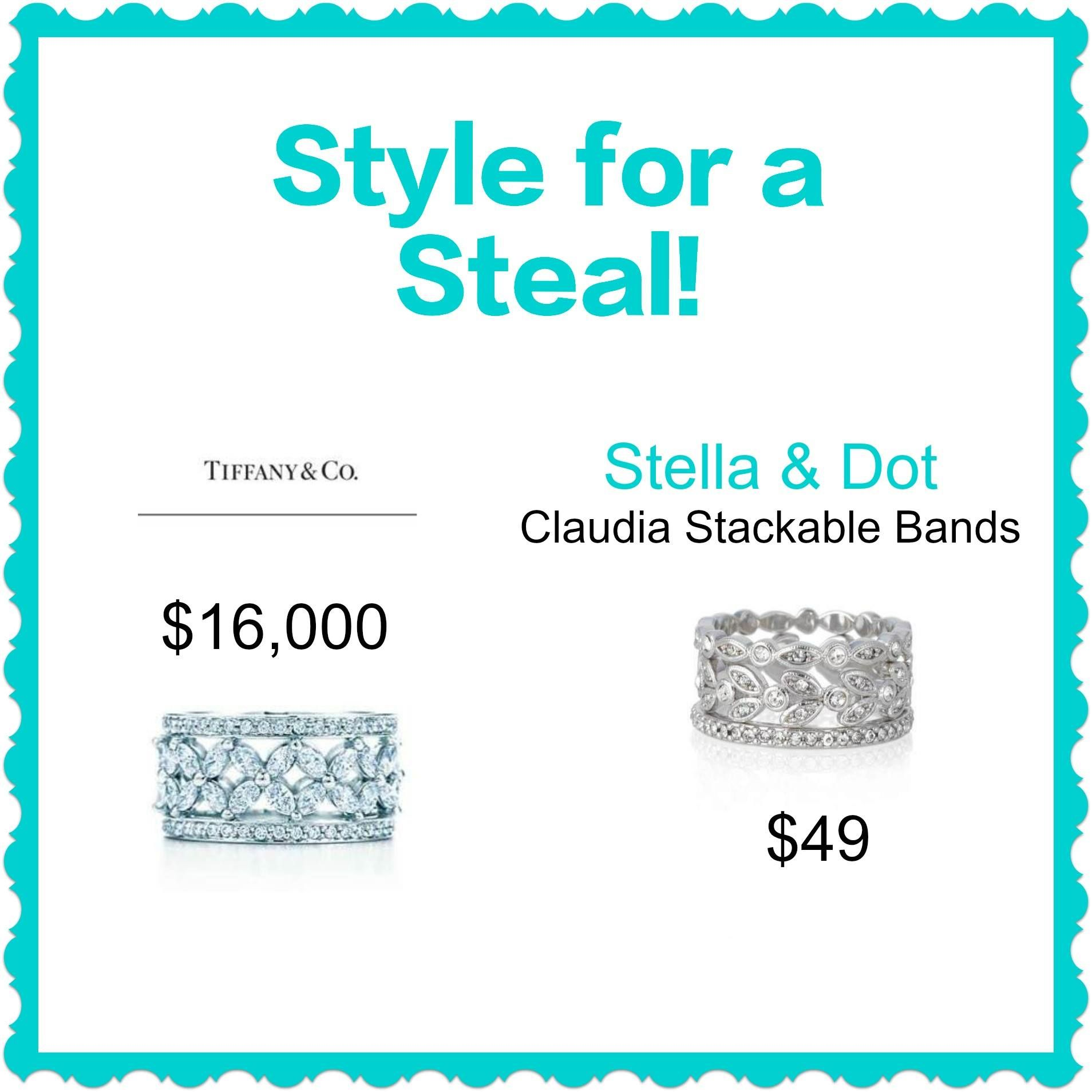 Style for a steal!  Our Claudia Stackable Bands are beautiful and are 3 separate rings.  www.stelladot.com/jackiebrowning