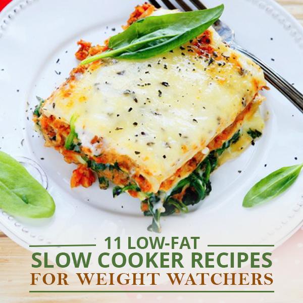 Weight Watchers Crock Pot Ideas: 11 Low-Fat Slow Cooker Recipes For Weight Watchers