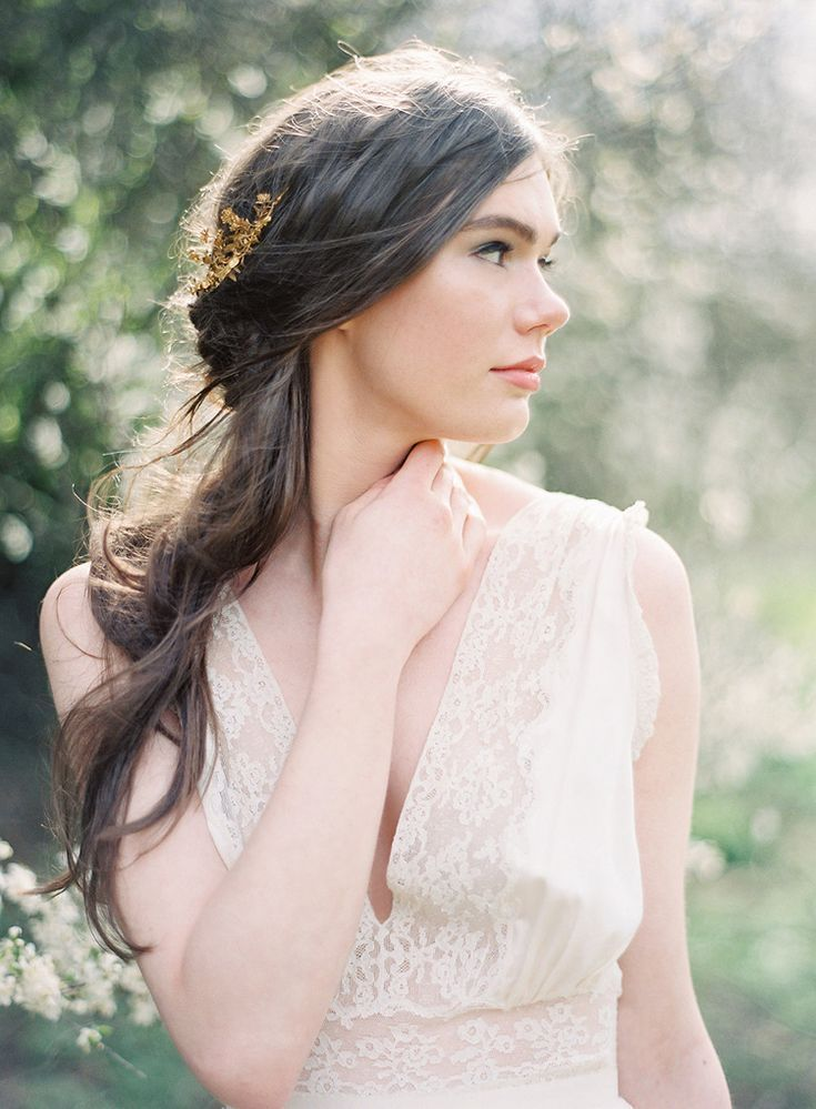 Dreamy Outdoor Wedding Inspiration in the Scottish Countryside  - Once Wed #bridalportraitposes