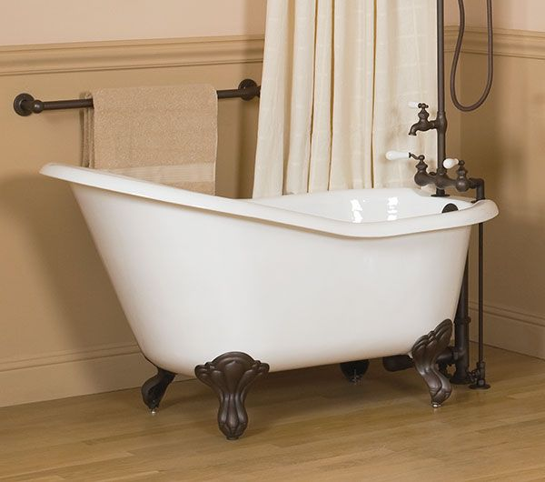 54 Cast Iron Slipper Bathtub The Fixtures Should Be In The