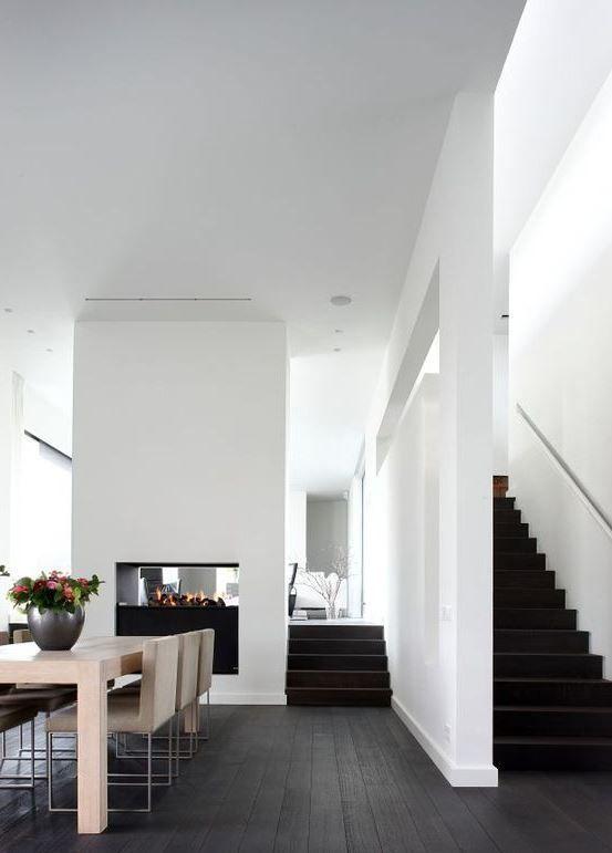Transition À la maison Interieur, Vloeren et Donkere vloeren