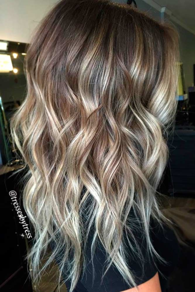 How To Choose The Right Layered Haircuts | Ash blonde balayage ...