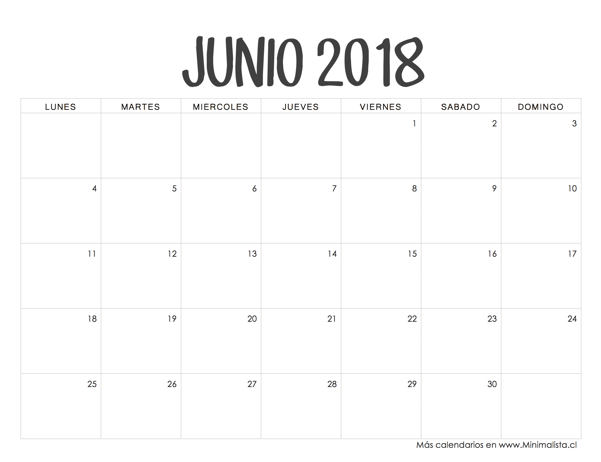 Calendario Escolar Madrid 202018.Calendario Junio 2018 Apuntes Calendario 2018 Para Imprimir