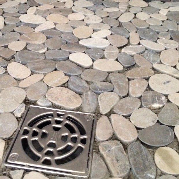 Pebble Shower Floor Problems | furniture ideas | Pebble tile shower