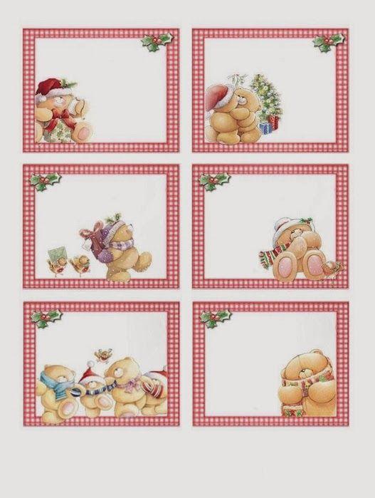 Ositos Para Navidad Para Imprimir Gratis Forever Friends