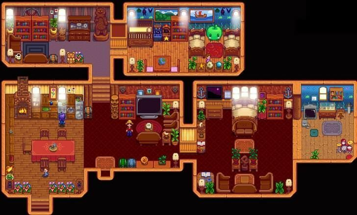 Stardew valley farmhouse album on imgur also greenhouse designs rh pinterest
