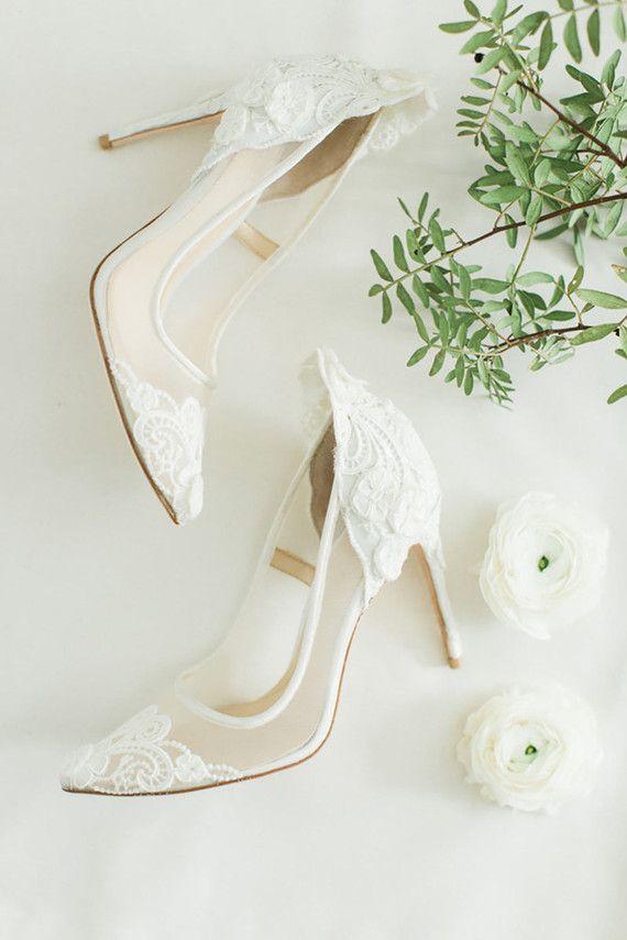 Wedding Shoes Sepatu Putih Pernikahan