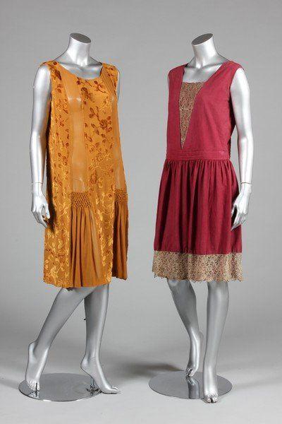 Cocktail/dinner dresses, late 1920s | 1920s | Pinterest