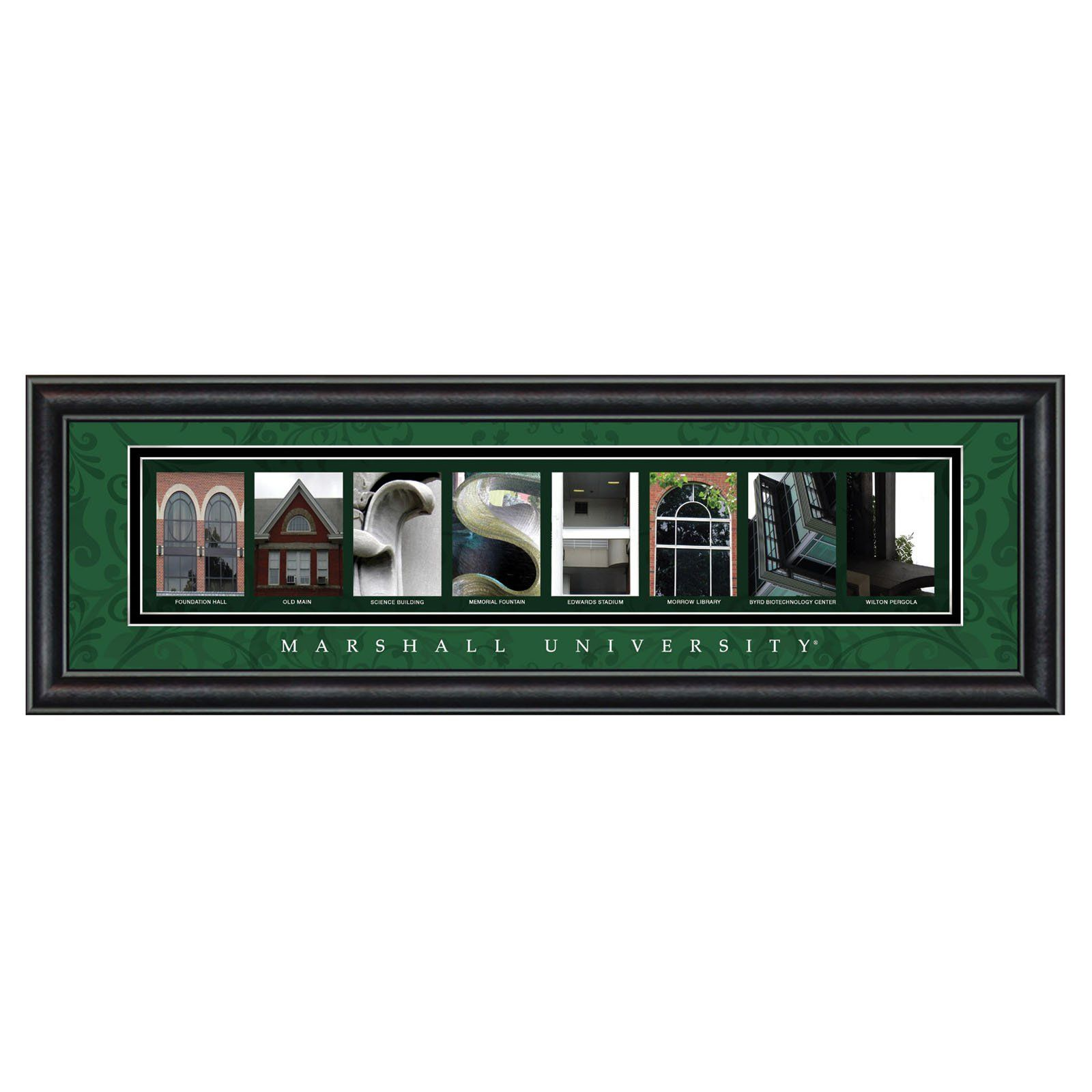 Framed Letter Wall Art - Marshall University - 24W x 8H in. - CLAL1B22MRSH  sc 1 st  Pinterest & Framed Letter Wall Art - Marshall University - 24W x 8H in ...