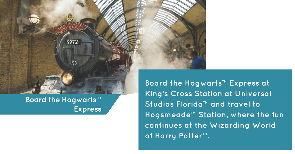Hogwarts Express at Universal Studios Florida