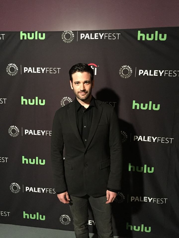 Colin Donnell hits the PaleyFest red carpet