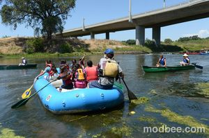 Modesto families dip into cool lessons in Paddle to the Sea