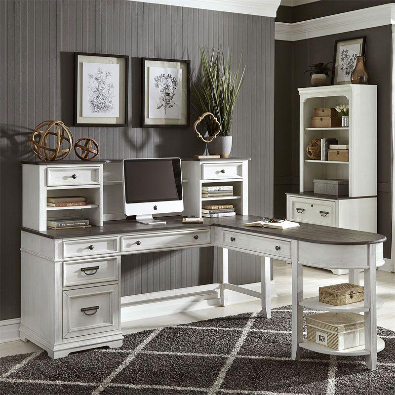 Allyson Park Jr Executive L Shaped Home Office Set Home Office