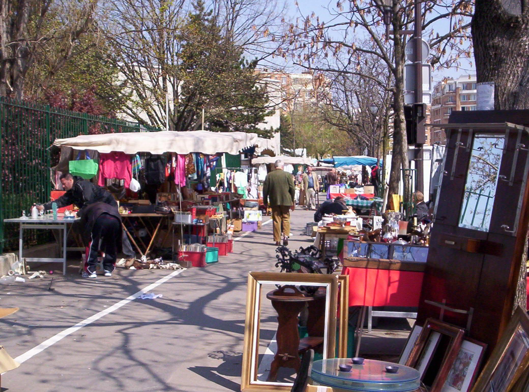 Paris flea market.