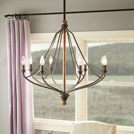 Kichler Lighting Carlotta Distressed Black Wood Hardwired Standard Chandelier At Lowe Canada Find Our Selection Of Chandeliers The Lowest Price