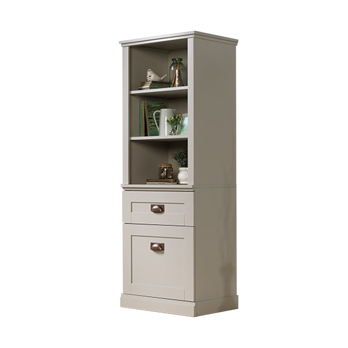 Sauder New Grange Tall Cabinet (419281) - Free Shipping ...