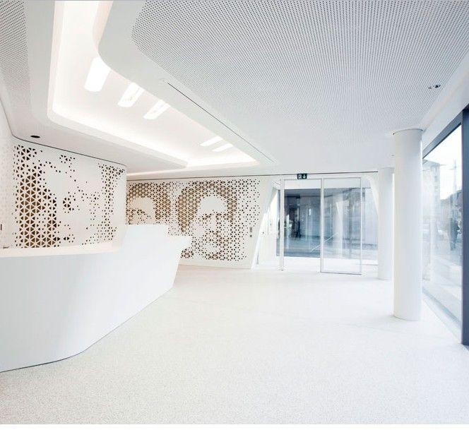 Raiffeisen Bank Open Lounge, Zurich by NAU + DGJ ...