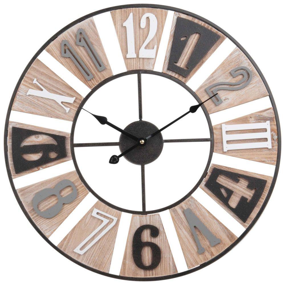 Décoration Maison En 2019 Horloge Metal Maison Du Monde