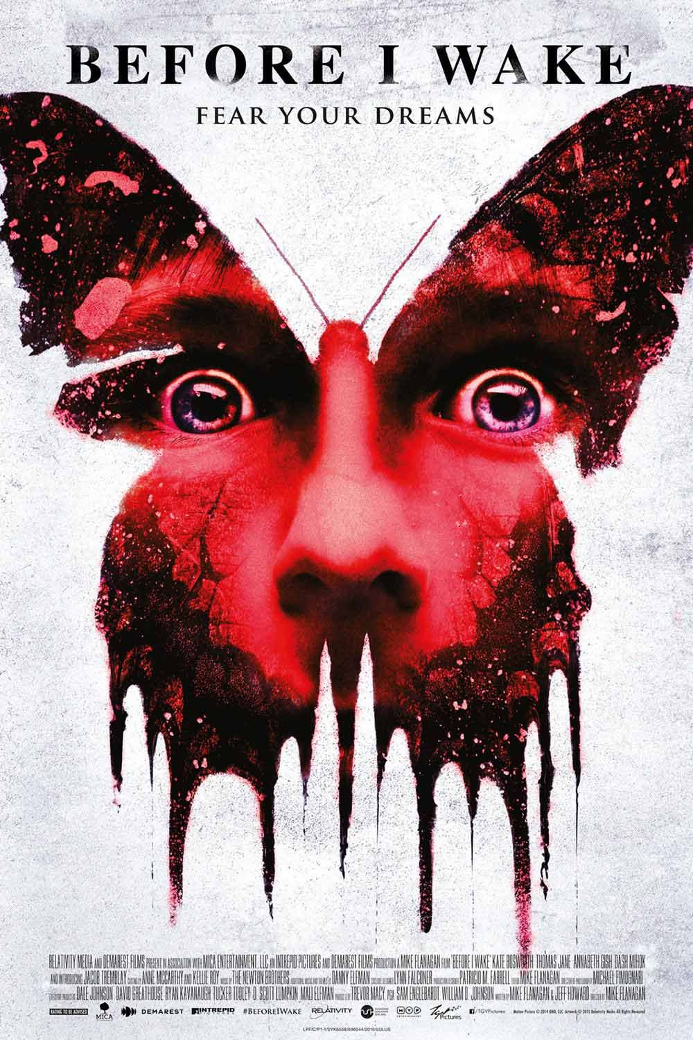 Before I Wake 2016 Horror Thriller Drama Fantasy Movie