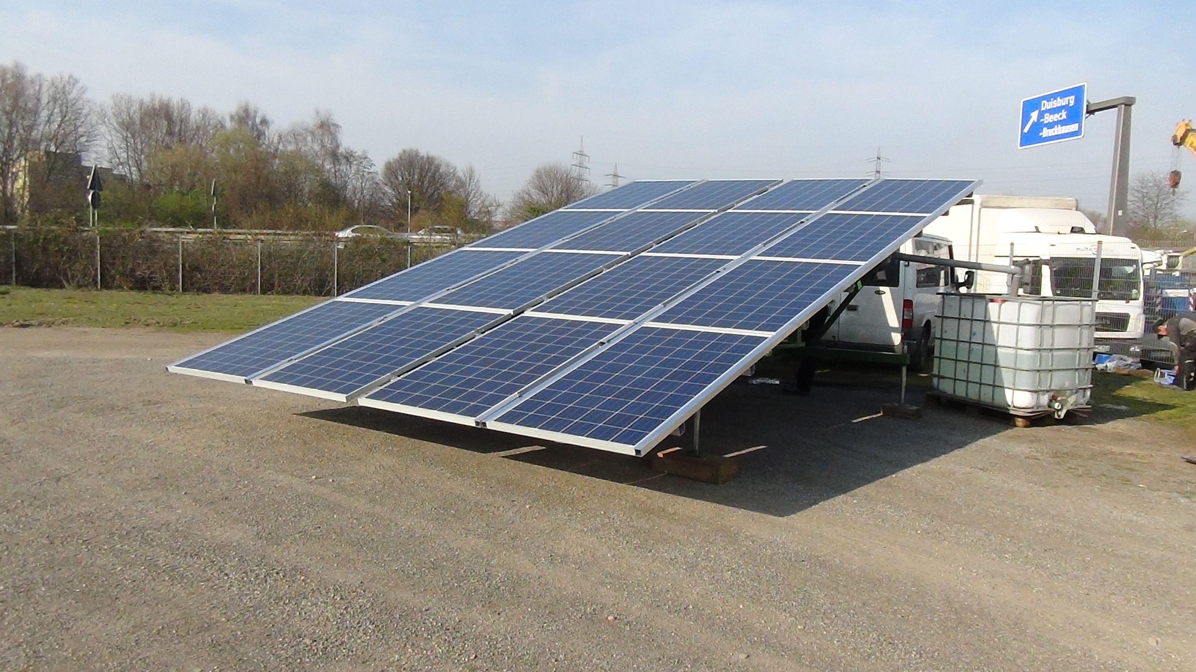 solar water pump solar trailer pinterest solar water and solar