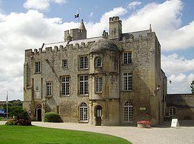 Château de creully, Calvados, France