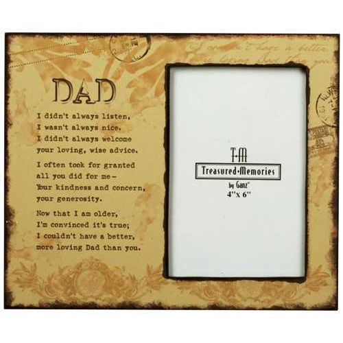 loving dad memorial photo frame