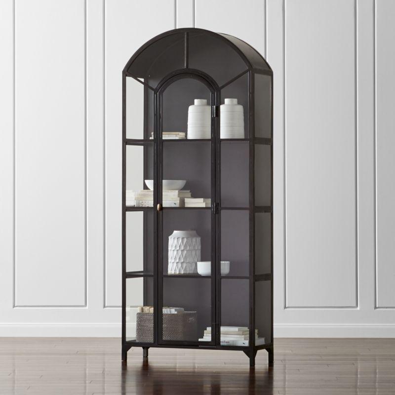 Ventana Glass Display Cabinet Reviews Crate And Barrel Glass Cabinets Display Display Cabinet Diy Furniture Bedroom
