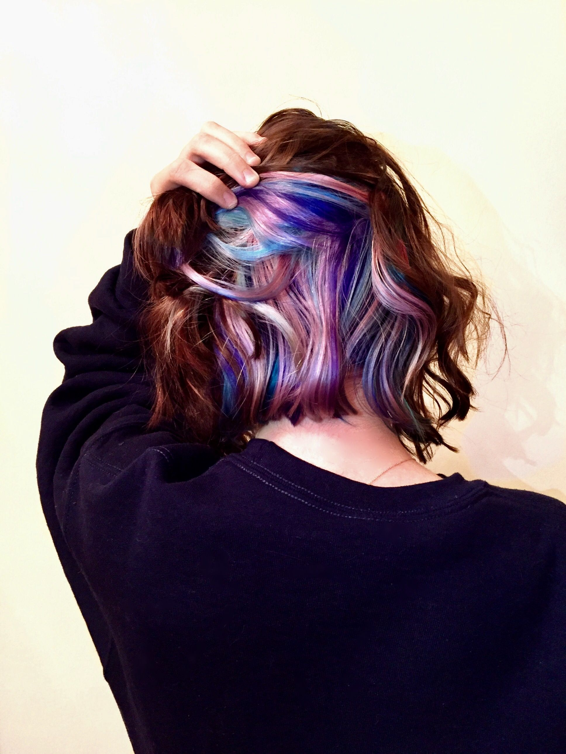 My peekaboo pastel unicorn hair worded pinterest unicorn