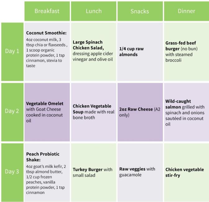 diabete type 1 diet plan