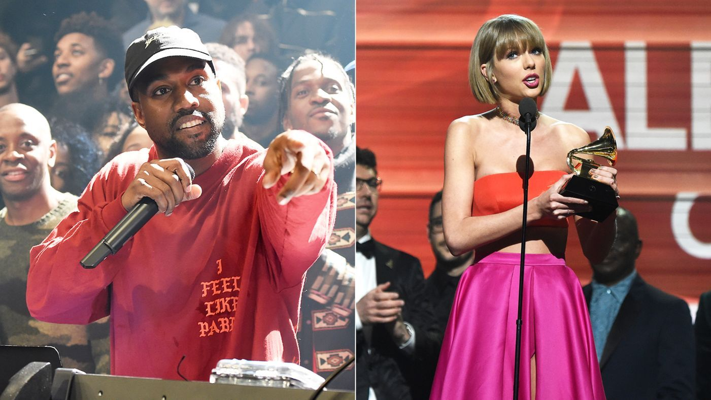 Taylor Swift Vs Kanye West A Beef History Taylor Swift Kanye West Kanye West Kanye
