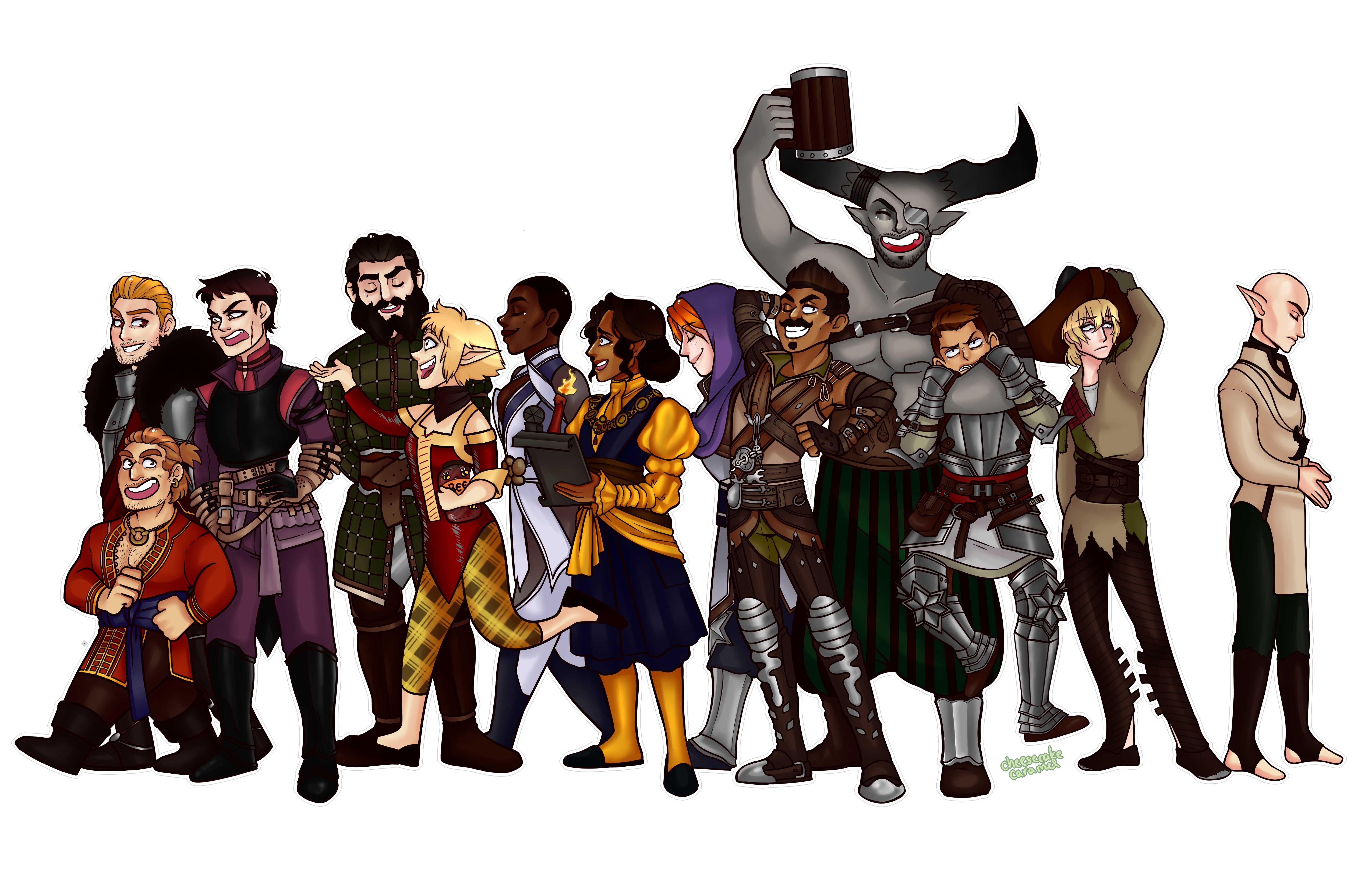 Dragon Age Inquisition Fanart By Cheesecakecaramel Dragon Age Dragon Age Inquisition G Dragon Age
