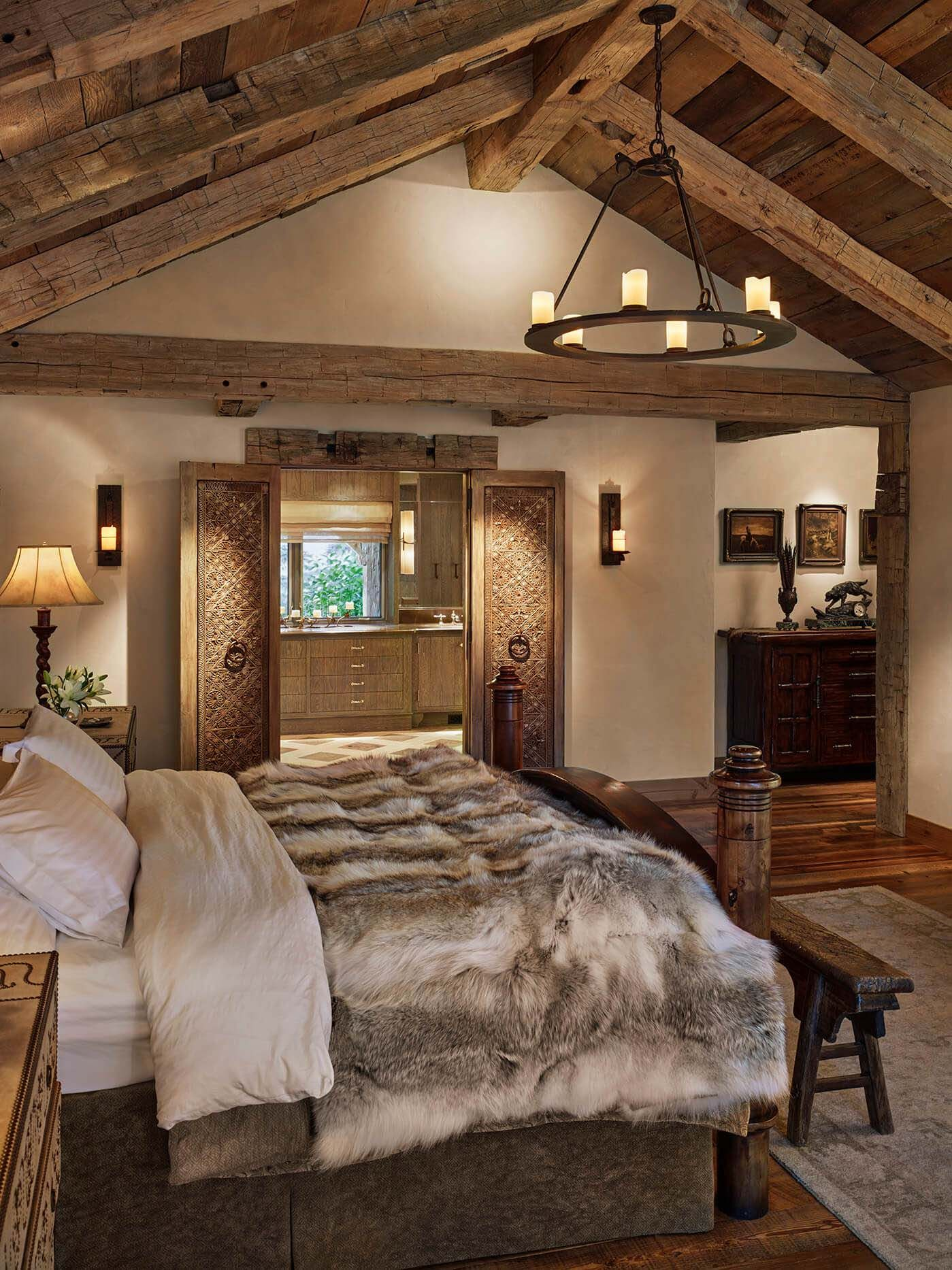 Farmhouse Addition Home Design Ideas Pictures Remodel And Decor: Breathtaking Rustic Ranch House Tucked Into The Beartooth Mountains