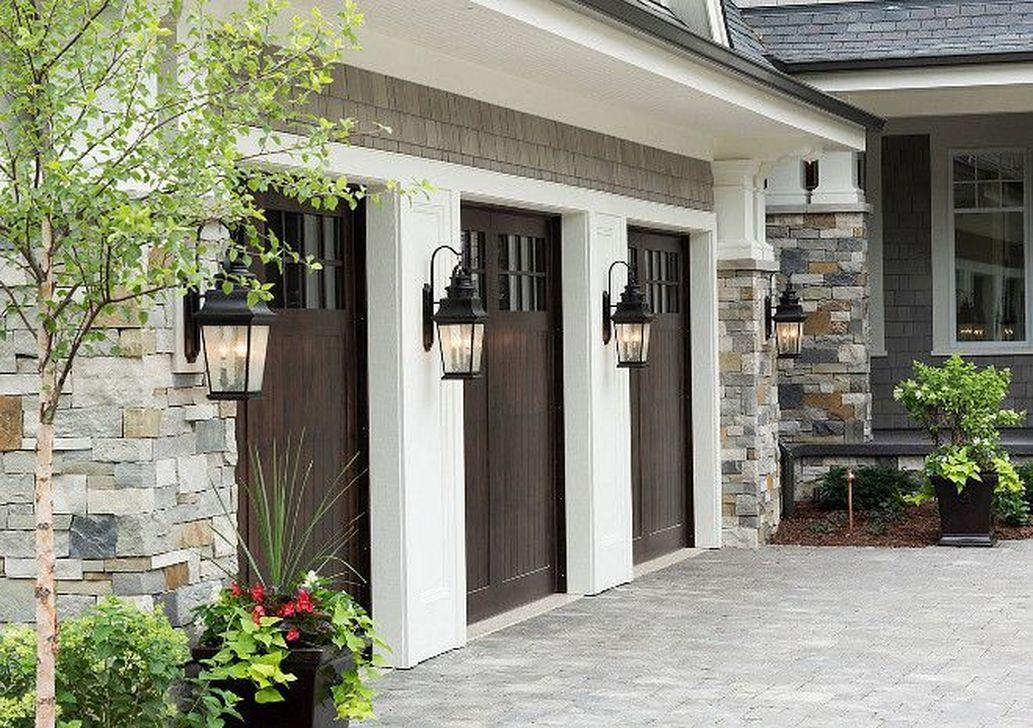 Pin By Darleen Ellsworth On Outside House Garage Exterior