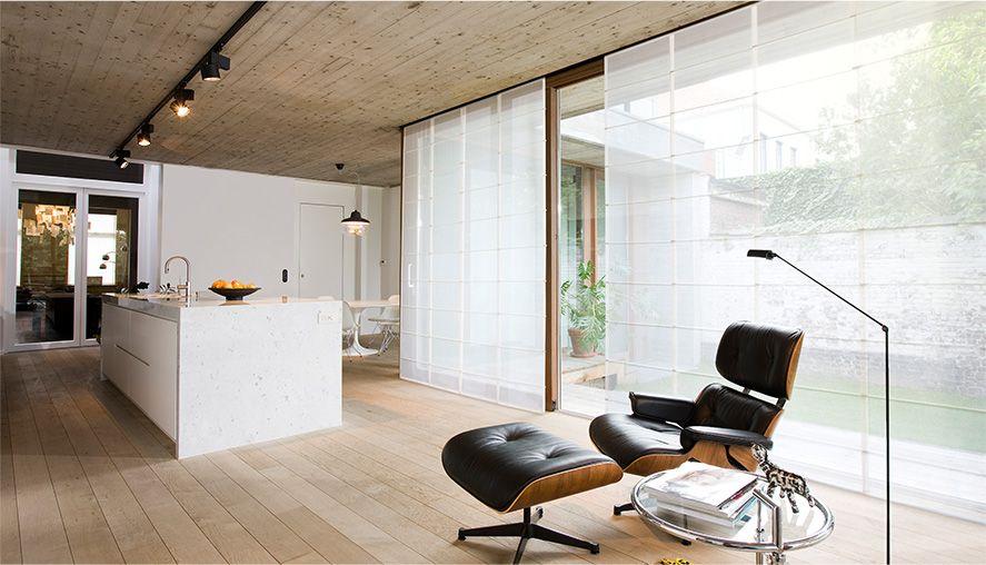 Sheer flat roman shades furnishings window treatments in 2018