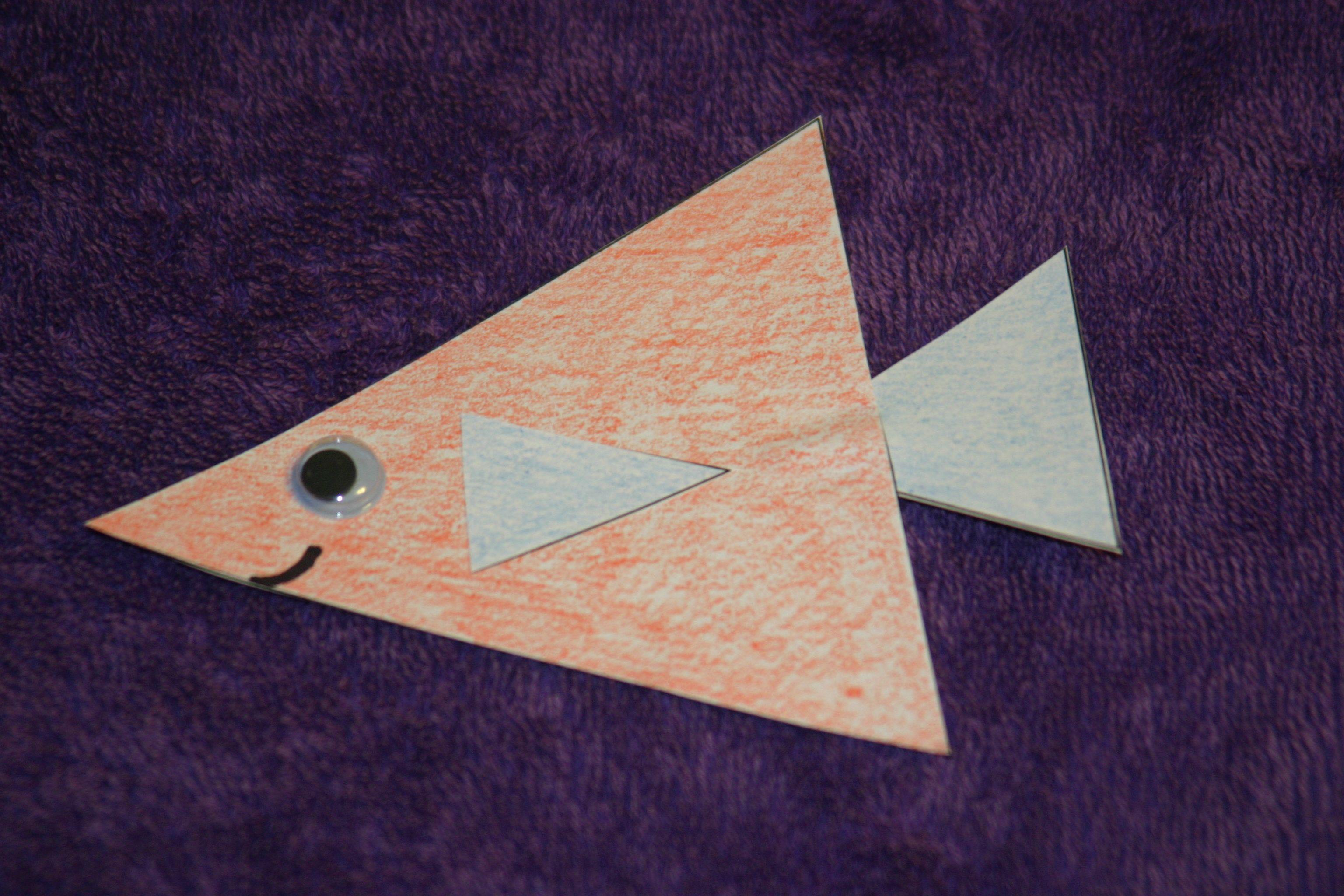 Triangle Fish Craft