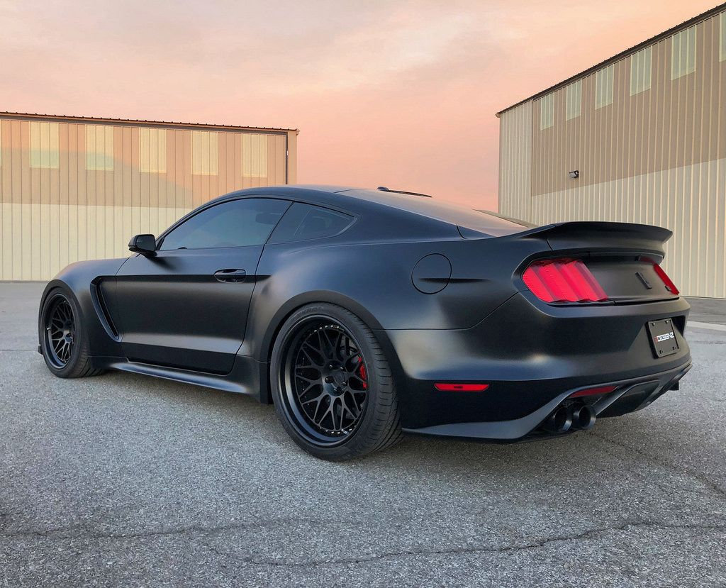 Post Pix Of Your S550 With Aftermarket Wheels And Tires Ford